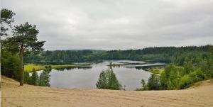 Uhutjoenmutka, I.K Inhan maisemissa 2016. Kuva Sari Karjalainen